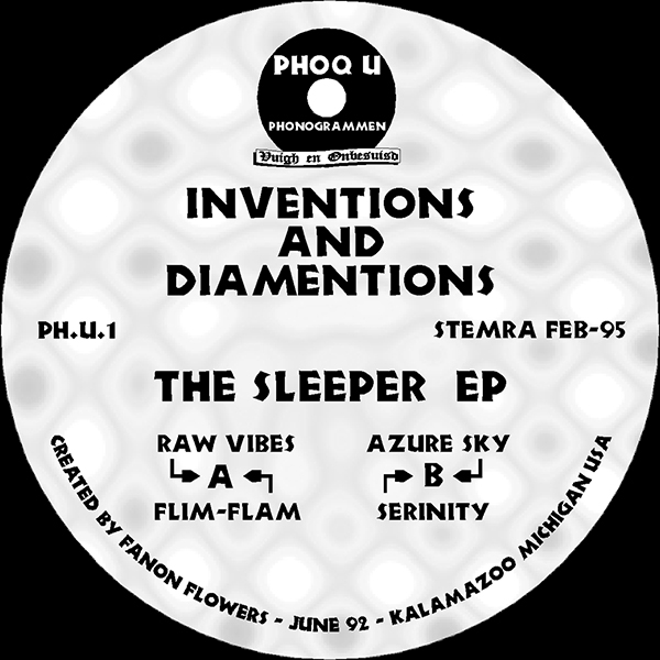 Inventions And Diamentions - The Sleeper EP